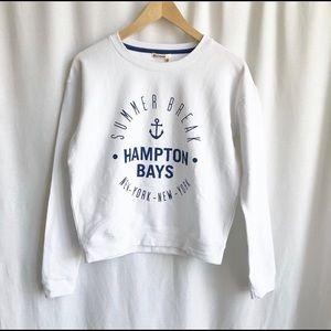 Bizzbee White sweatshirt